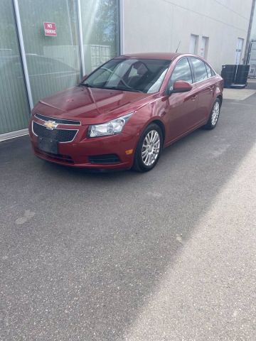 Pre-Owned 2013 CHEVROLET CRUZE ECO Front Wheel Drive 4dr Car