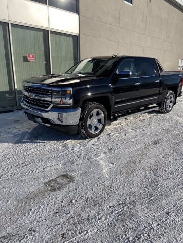 Pre-Owned 2017 CHEVROLET SILVERADO 1500 LTZ Four Wheel Drive 4WD Crew Cab 143.5 w/1LZ
